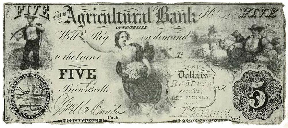 дизайн американских банкнот 3