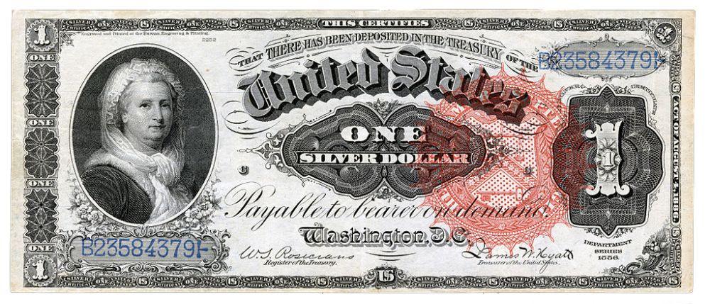 дизайн американских банкнот 7