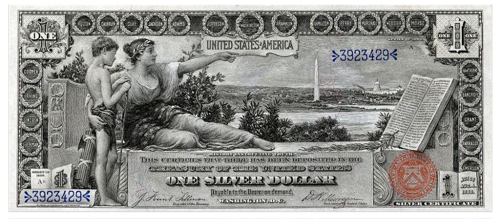 дизайн американских банкнот 8