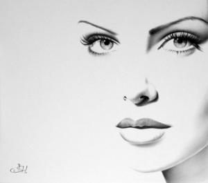 Портреты знаменитостей от британской художницы Илеаны Хантер