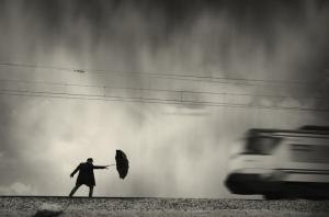 Блестящий фотопроект о таинственном одиноком человеке