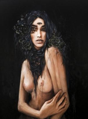 Страшно красивые картины Charmaine Оливии