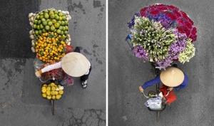 «Торговцы сверху». Фотопроект о неожиданной красоте