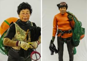 Хэнё - женщины моря. Фотограф Хёнг С. Ким