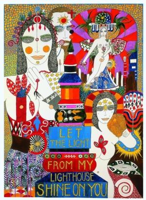 Дух свободной любви в эротической живописи Дороти Янноне