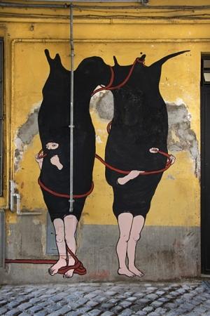 Новая уличная роспись художника Santiago Morilla