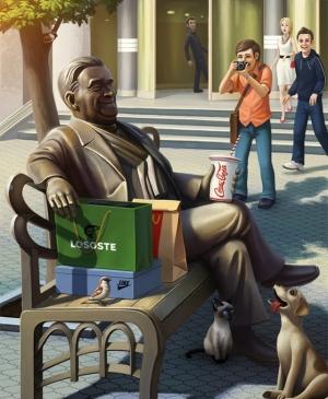 Цифровые иллюстрации Константина Алекяна