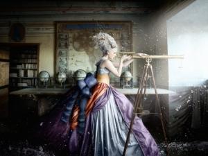 Фотохудожница Алексия Синклер и ее волшебная фотосессия в шведском замке