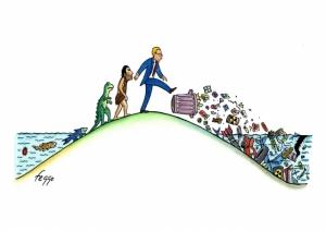Сатирические рисунки об изменениях климата