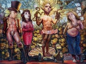 Сюрреалистические картины Скотта Брукса