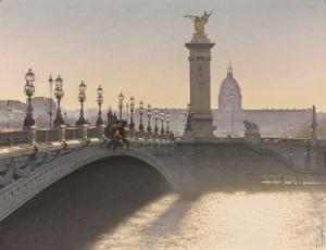 Очарование Парижа в акварельных картинах Тьерри Дюваля