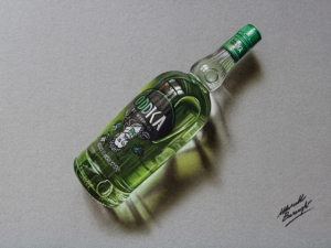 Фотореалистичные рисунки повседневных предметов от Марчелло Баренжи