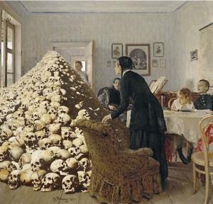 Любой картине русского художника идёт на пользу гора черепов из «Апофеоза войны»