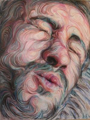 Психоделические портреты Никоса Гуфтакиса (Nikos Gyftakis)