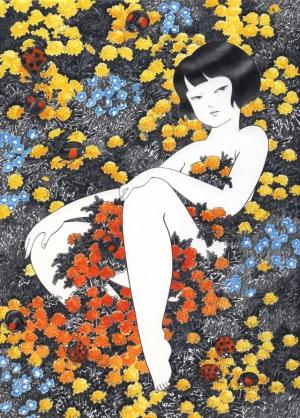 Ностальгия по детству от художницы Акино Кондо