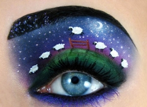 Таль Пелег (Tal Peleg). Сказочный макияж глаз