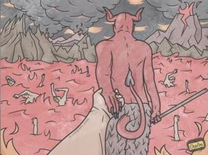 Саркастические иллюстрации художника Антона Гудима