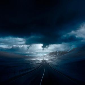 Голубая Исландия: потрясающие инфракрасные фотографии исландских пейзажей