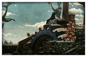 Эзотерический и американский символизм в рисунках Чарльза Виша