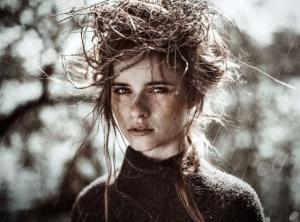 Портретные фотографии Инес Ребергер