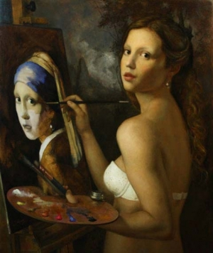 Классика и современность в провокационных картинах Сезара Сантоса (Cesar Santos)