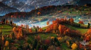 Раннее утро в трансильванских горах - потрясающие пейзажные фотографии