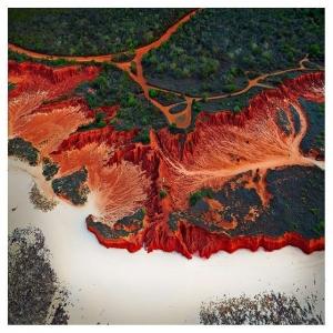 Впечатляющие абстрактные аэрофотографии Австралии от Шелдона Петита