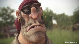 Красивый 3D-арт от Педро Конти (PedroConti)