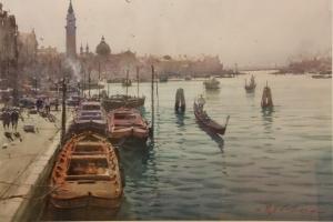 Картины мастера акварельной живописи Джозефа Збуквича