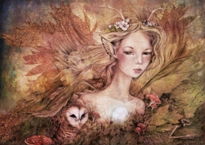 Цифровое искусство художницы из Австралии - Лорен Келли