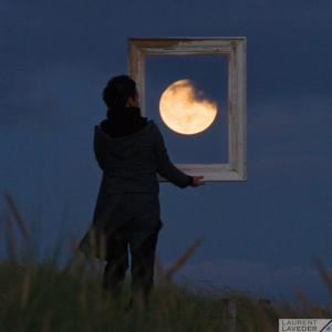20 картин с медовой полной Луной