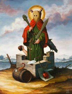 Химеры и средневековье в картинах Майка Дэвиса (Mike Davis)