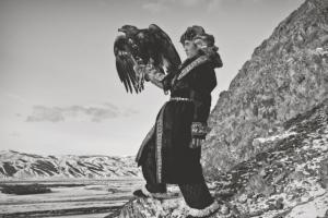 Последние орлиные охотники Монголии. Фотопроект Палани Мохана