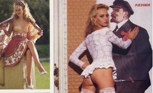 Русские девушки в эротических фотографиях из журнала Playboy 1990 года