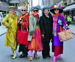 «Продвинутый стиль: старше и мудрее» – фотопроект о гламурных пенсионерах