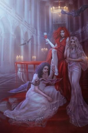 Красивое и зловещее цифровое искусство от Blavatskaya