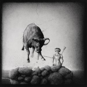 Крупномасштабные графитовые рисунки Итана Мёрроу