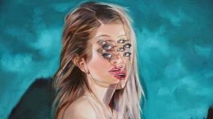 Галлюциногенные картины от «Королевы двойных глаз»