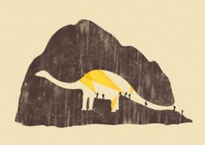 Блестящее использование негативного пространства в 30 рисунках