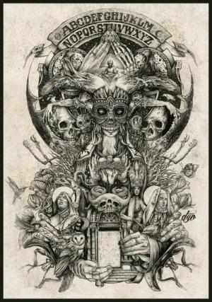 Символичные рисунки французского художника ДЗО Оливье