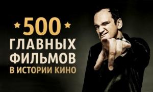 500 главных фильмов, которые повлияли на историю мирового кино
