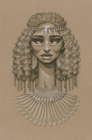 Портреты богинь от Сары Голиш
