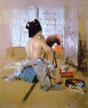 Впечатляющие картины Токио конца 19-го века от Роберта Фредерика Блюма