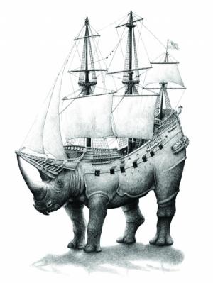 Причудливые рисунки голландского художника Редмера Хукстры (Redmer Hoekstra)