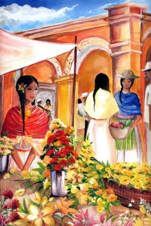 Великолепные примеры традиционной живописи