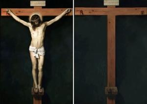 Испанский художник удаляет всех персонажей из знаменитых классических картин
