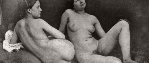 Лесбийская эротика в ретро фотографиях (1880-е годы)
