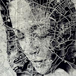 Невероятные портреты на картах от Эда Фэрберна