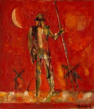 В Одесском музее открывается выставка «Ваган Ананян: Вечный рыцарь»