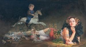 Викторианский романтизм и научная фантастика в картинах Хайди Тайллефер